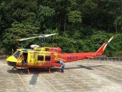 空勤總隊致贈UH-1H飛行交機典禮
